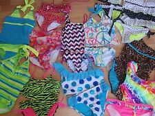 NWT GIRLS JUSTICE SWIMSUIT SZ 5, 6, 7, 8, 12,14, 16, 18 ZEBRA, SEQUINS