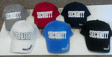 Security Officer Guard Adjustable Uniform Embroidered Baseball Hat Cap FITS ALL