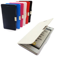 Heat Magnetic Drawing Leather Flip Full Case Cover For LG P705 Optimus L7