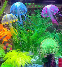 JT21 Artificial Glowing Effect Aquarium Fish Tank Decoration Jellyfish Ornament