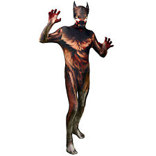 Official Licensed Morphsuit Werewolf Fancy Dress Bodysuit M L XL 1st Class Post