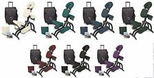 Earthlite Avila II Portable Professional Massage Chair Package - 7 COLOR CHOICE