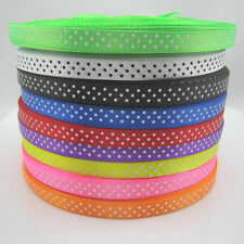 NEW 10Yards 3/8 9mm Polka Dot Ribbon Satin Craft Supplies pick lots colors craft