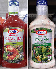 J.L Kraft Salad Dressing Dip Sauce & Marinade ~ Pick One