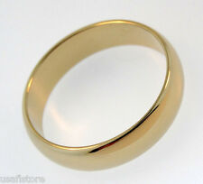 18kt Yellow  Gold Plated 4mm Wedding Band Ring