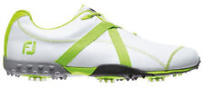 2013 FootJoy Men's M Project Cleated Golf Shoes Closeout New White/Lime 55108