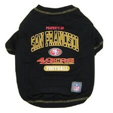 San Francisco 49ers NFL Pet Dog t-shirt tee (all sizes) Black NEW Style