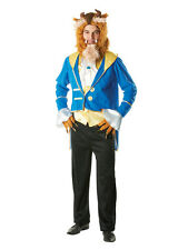 Adult Licensed Disney Beauty And The Beast Fancy Dress Costume Male BN