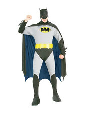 Adult Batman Classic Fancy Dress Costume Mens Gents Male BN