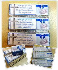 Personalised KitKat Chocolate Christening Party Favours Wrappers / Pre-made N12