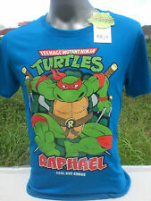 Official Vintage Style Raphael TMNT Teenage Mutant Ninja Turtles T Shirt