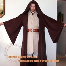 1pc STAR WARS Jedi Adult/Kid Cape Cloak Hooded Cosplay Costume Halloween Gift