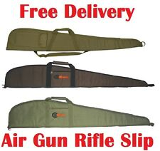 SMK Air Gun Rifle Slip Padded Combo Carry Case Scope Shooting Canvas Bag Gunslip