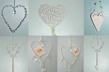 Shabby chic heart decorations home wedding christmas birthday present valentine
