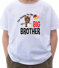 I'M GOING TO BE A BIG BROTHER CHRISTMAS SHIRT WITH REINDEER SNOWBALL XMAS
