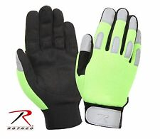 Lightweight Safety Lime Green All Purpose Duty Traffic Crossing Guard Gloves