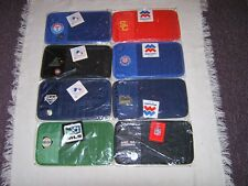 MLB NCAA MLS NFL VARIOUS TEAMS 8 DISC CD DVD CAR VISOR HOLDER NEW