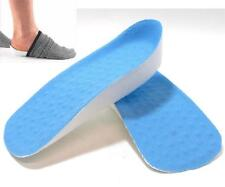 Unisex Height Increase Shoe Lift Insoles Molded Pad Cushion  Heel Shoes Pads