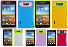 For LG Optimus Showtime L86c TPU Candy HYBRID GLOW Case Phone Cover Accessory