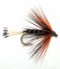 3x, 6x or 12x Fly Fishing Trout Flies (SCOT70)  DIRTY WEEKER Wet Trout Fly