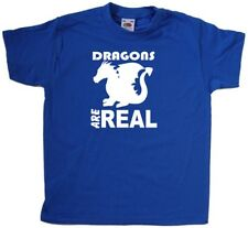 Dragons Are Real Kids T-Shirt