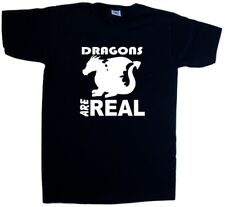 Dragons Are Real V-Neck T-Shirt
