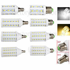 5W 8W 12W 15W E27 E14 LED SMD Corn Light Warm Cool White Bulb Lamp VS Halogen