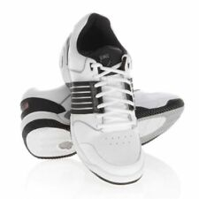 K-Swiss Accomplish LS Mens Leather Tennis Trainers White & Black Racket Sport