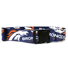 Denver Broncos NFL Licensed pet dog collars (all sizes)