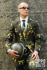 Commando Oppo Suit - Full Fancy Dress Camouflage Army Camo Stag Party Wedding