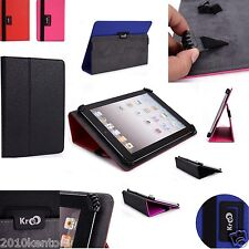 Kroo Universal Adjustable Claw Grip Folio stand Case cover for Zeki 10.1 Tablet