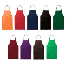 Apron with Two Front Pockets for Kitchen Chefs Butchers  Cooking Craft  Bakers