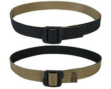 Tactical Outdoor Military Double-sided Duty Nylon Belt Black & Coyote Brown