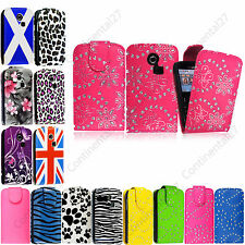 For Samsung Chat S3350 Ch@t335 New Printed PU Leather Magnetic Flip Case Cover