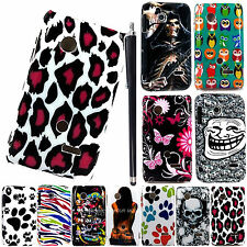 FOR SONY XPERIA TIPO ST21i SONY TAPIOCA NEW PRINTED HARD SHELL CASE COVER+STYLUS