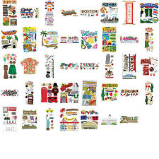 Jolee's VACATION DESTINATIONS Scrapbook Stickers (you choose style) at 50% off