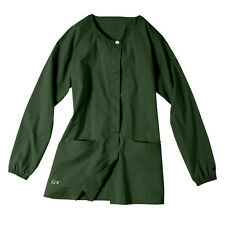 IguanaMed Women's Treeline Green Nursing Jacket
