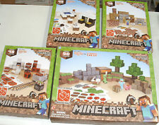 New Minecraft Papercraft. Overworld Deluxe, Shelter, Minecart, Snow Biome kits