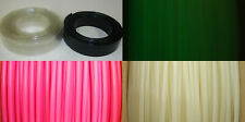 "3/8"" ID Heat Shrink PVC Tubing, Glow in the Dark, Black and other"