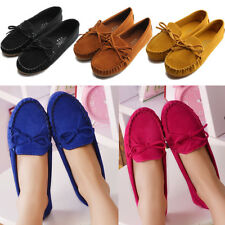 Women Dolly Ballerina Low Heels Slip On Pump Ballet Loafers Moccasin Flat Shoes