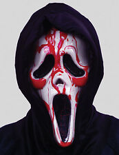 From the Movie Scream, Bleeding Ghost Face Adult Mask by Fun World