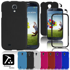 NEW STYLISH 2 PIECE ARMOUR HARD BACK CASE COVER FOR SAMSUNG GALAXY S4 i9500