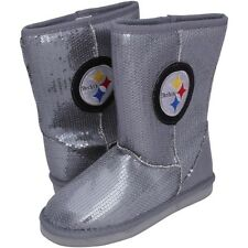 Pittsburgh Steelers Ladies High-End Sequin Boots