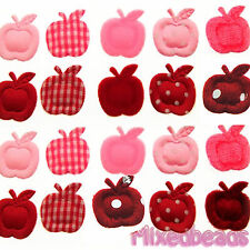 "*U PICK*100-110 pcs Apple Fruit 3/4"" Padded Applique hair scrapbook fabric craft"