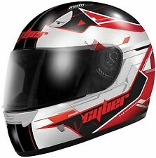 Cyber US-39 Graphic Helmets White/Grey/Red/Blue Sizes Large and XL Brand New