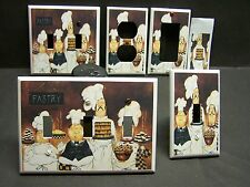 FAT CHEF PASTRY BAKING  HOME DECOR LIGHT SWITCH COVER PLATE OR OUTLET