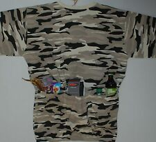 CAMO DESERT CYCLE TEE JERSEY W/ POCKETS XL CYCLE-T NEW  *** (XL ONLY) 2 LEFT !