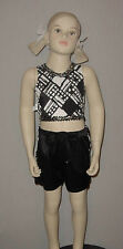 Closeout Clearance Hip Hop Dance Costume Rave On Child Small & Medium HALLOWEEN