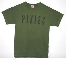 Pixies Ladies and Unisex Army Green T Shirt, NEW