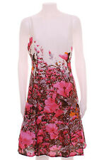 NEW RRP£79 MONSOON PINK FLORAL PRINT 50s 60s DRESS UK 8 10 12 14 16